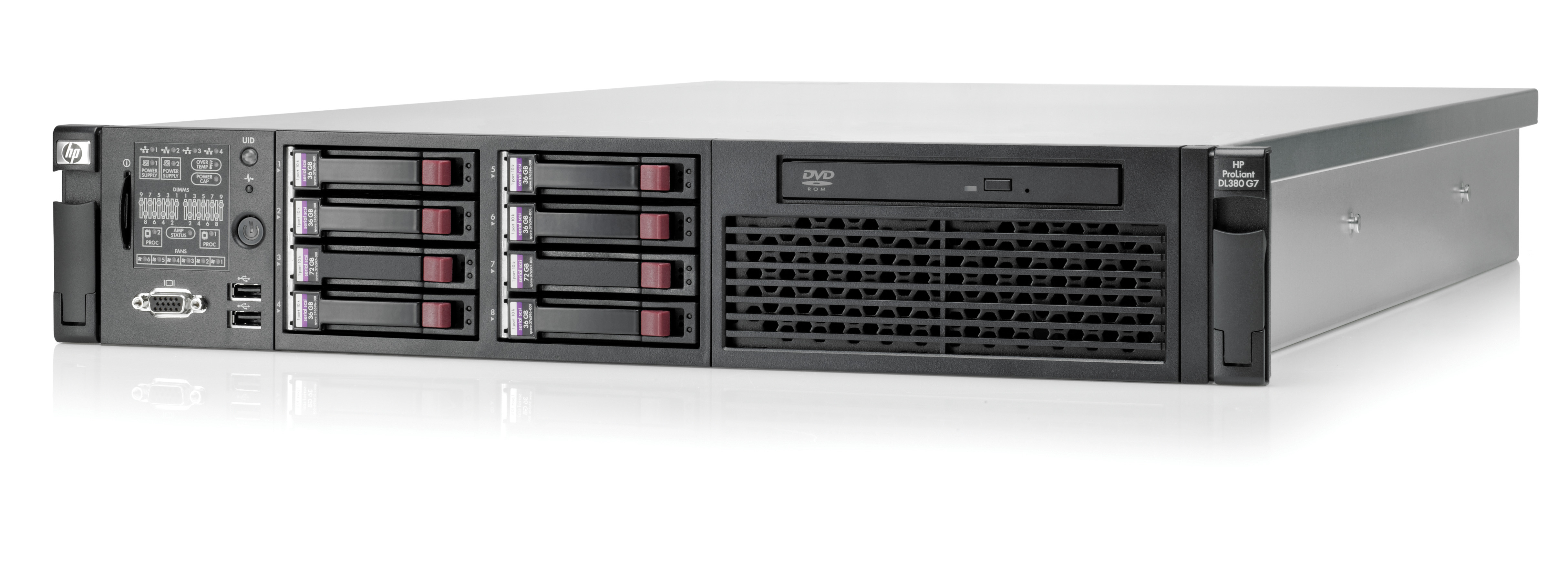 HP Proliant DL380 G7 Performance server