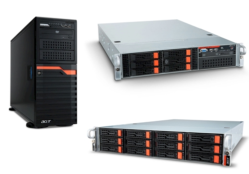 Server Altos linea tower e rack